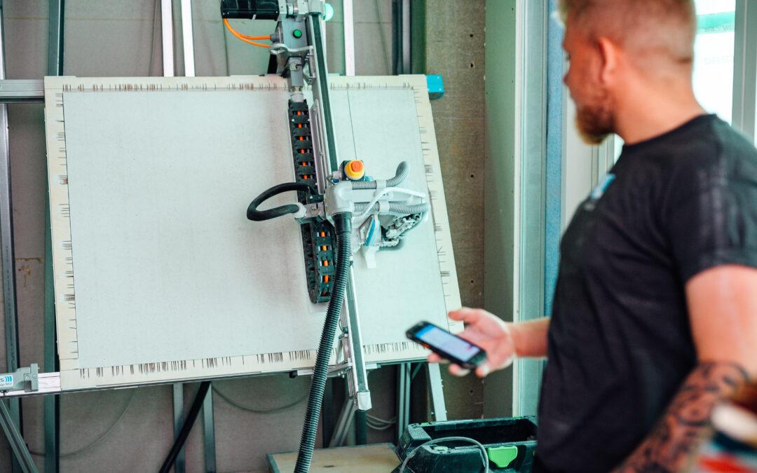 Robotter skærer Slagelses første højhus til